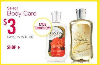 Select Body Care – $3