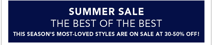 Summer Sale - The Best of the Best