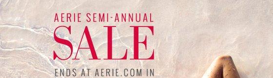 Aerie Semi-Annual Sale Ends At Aerie.com In