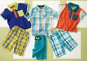 Bright Summer Styles for Boys