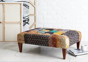 Kantha Style Chairs & Benches