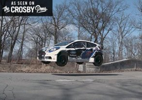 Shop Just a Ford Fiesta Flying Through Detroits Abandoned Streets