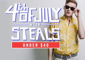 Shop 4th of July Steals: Under $40