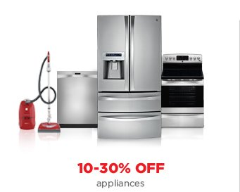 10-30% OFF appliances