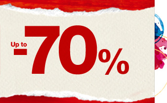 Up to -70%