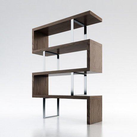 Pearl Bookcase // Walnut