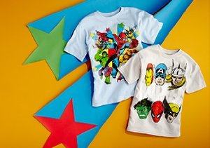 Superhero Style: Freeze Boys' Tees