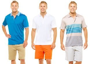 Evolution Men's Polos & More