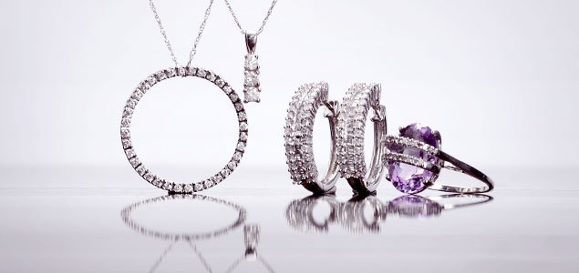 White Gold Jewelry Blowout