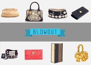 July 4th Luxury Accessories & Handbags Blowout