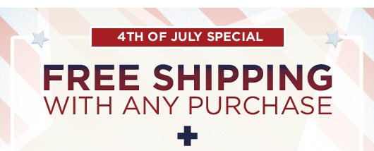 4th Of July Special FREE SHIPPING