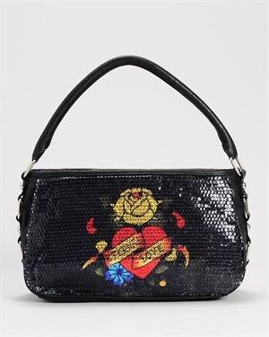 Ed Hardy Eternal Love Anges Shoulder Bag