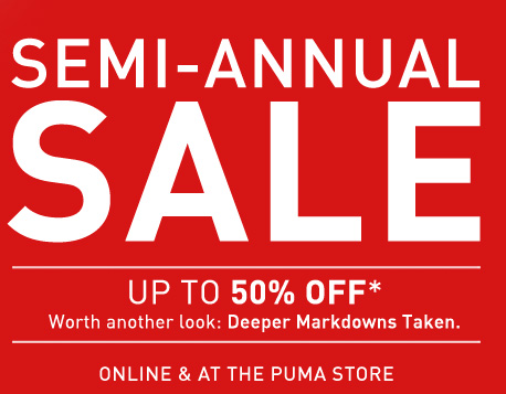 SEMI-ANNUAL SALE