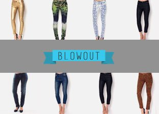 July 4th Women's Apparel Blowout: Bottoms