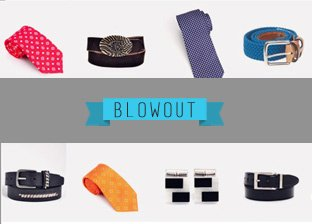 July 4th Men's Accessories Blowout