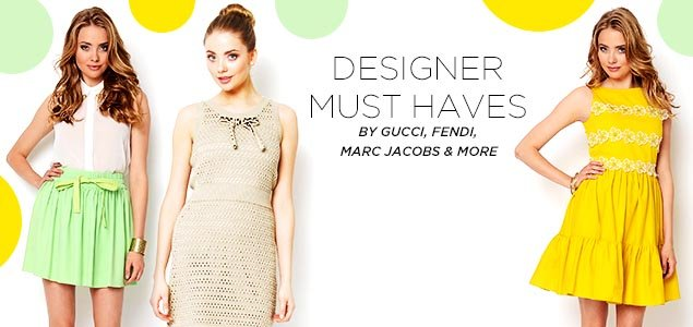 Designer Must Haves by Gucci, Fendi, Marc Jacobs & more