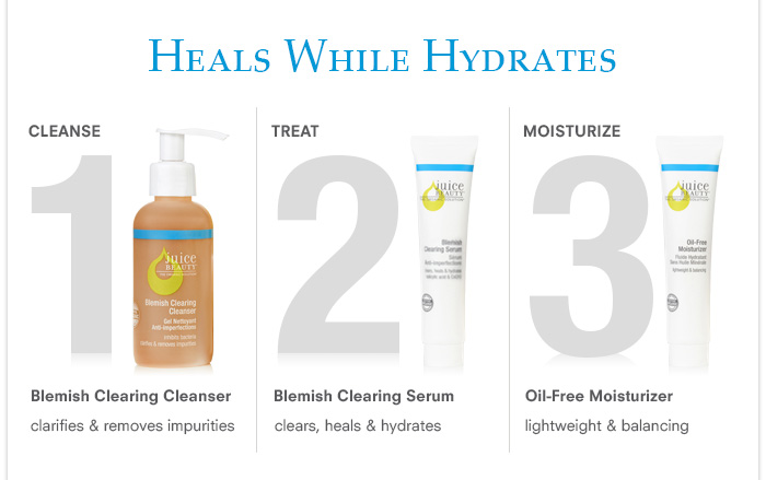 Heals While Hydrates