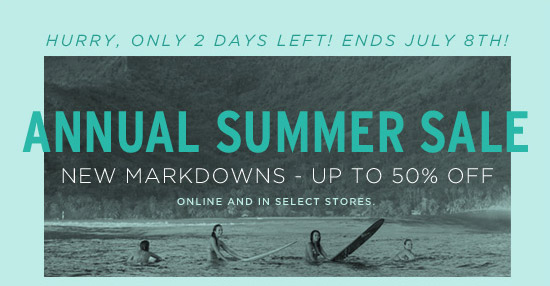 Hurry, only 2 days left! Ends July 8th!