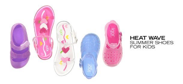 HEAT WAVE: SUMMER SHOES FOR KIDS