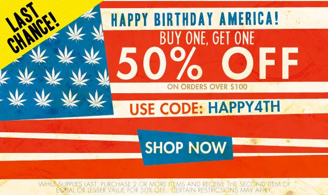 Last Chance: Buy One, Get One 50% off