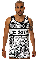 The Mutombo Tank in White & Black