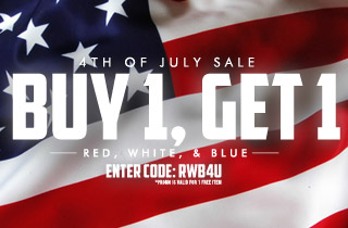 Red, White, & Blue: Buy 1, Get 1 Free