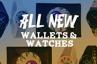 All New: Watches and Wallets