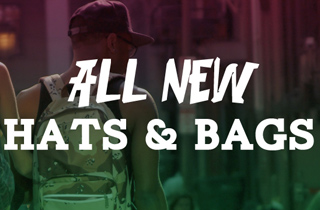 All New: Hats and Backpacks