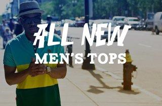 All New: Men's Tops
