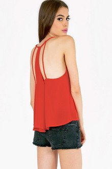 STACEY STRAPPED TANK TOP 22
