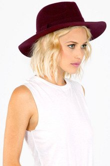 OVERSIZED WOOL FEDORA HAT 26