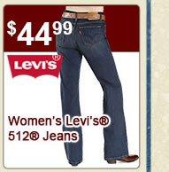 Womens Levis 512 Jeans