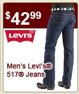 Mens Levis 517 Jeans