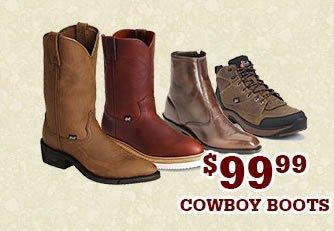 Mens 99.99 Cowboy Boots