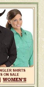 Womens Wrangler Shirts on Sale