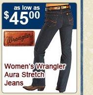Womens Aura Stretch Jeans