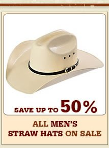 All Mens Straw Hats on Sale