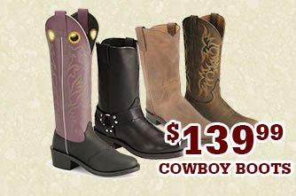 Mens 139.99 Cowboy Boots