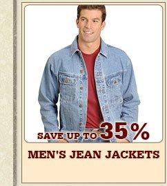 Mens Jean Jackets