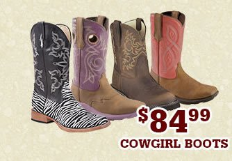 Womens 84.99 Cowgirl Boots