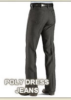 All Poly Dress Jeans on Sale