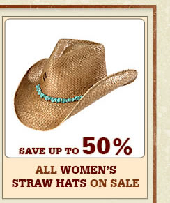 All Womens Straw Hats on Sale