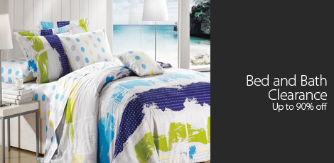 Bed and Bath Clearance