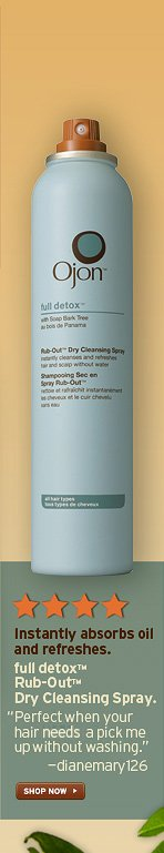 Instantly absorbs oil and refreshes full detox Rub Out Dry  Cleansing Spray Perfect when your hair needs a pick me up without  washing dianemary126 SHOP NOW
