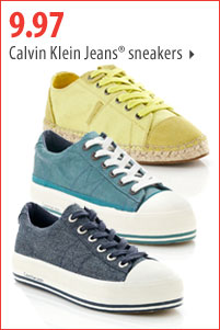 9.97 Calvin Klein Jeans® sneakers.