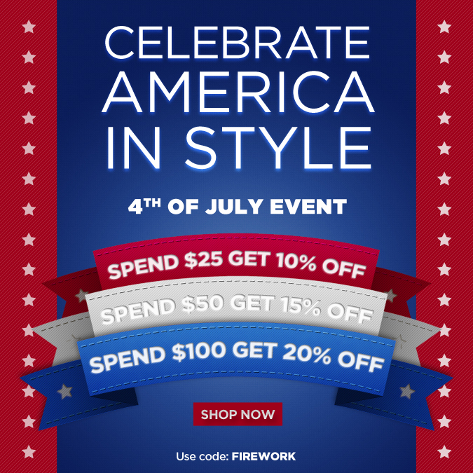 Shop The 4th of July Sale!