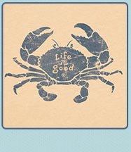 Mens Crusher Tees Elemental Crab