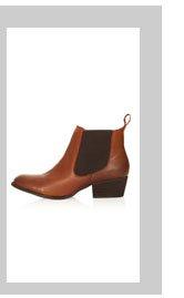 ALTER Mid Heel Chelsea Boots