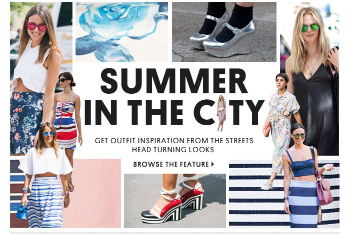 Summer in the City - Browse the feature
