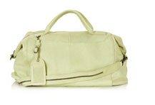 Vintage Leather Weekend Bag